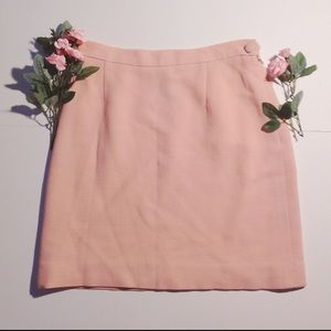 Vintage Moschino Cheap and Chic/Wool Mini Skirt